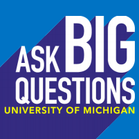 Ask Big Questions UM Logo